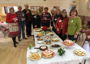 Volunteers Tea party for 40 volunteers